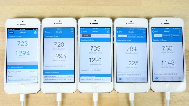 Đại chiến 5 đời iOS: mới chưa chắc đã nhanh! - Ảnh 10.