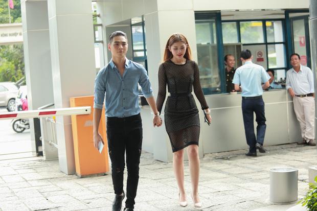 Chúng Huyền Thanh hộ tống bạn trai hot boy đi casting show âm nhạc - Ảnh 1.