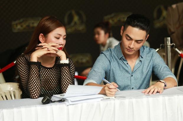 Chúng Huyền Thanh hộ tống bạn trai hot boy đi casting show âm nhạc - Ảnh 3.