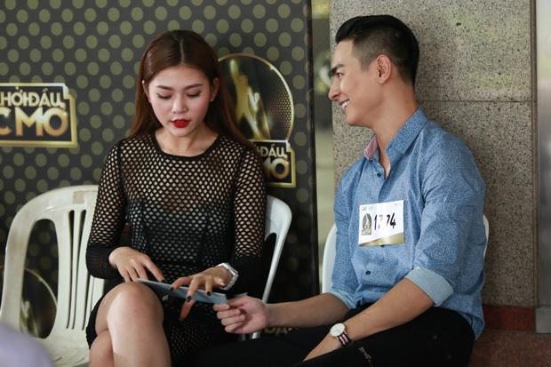 Chúng Huyền Thanh hộ tống bạn trai hot boy đi casting show âm nhạc - Ảnh 4.