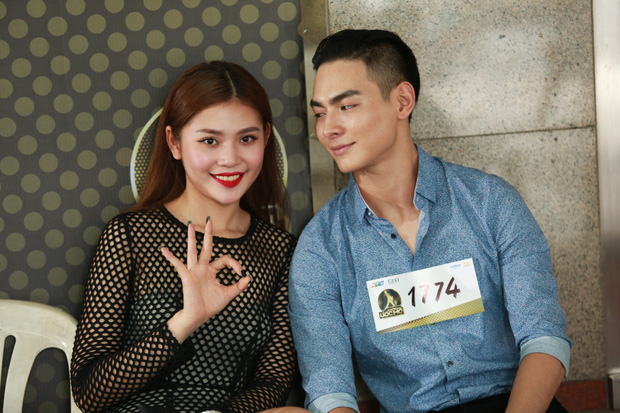 Chúng Huyền Thanh hộ tống bạn trai hot boy đi casting show âm nhạc - Ảnh 5.