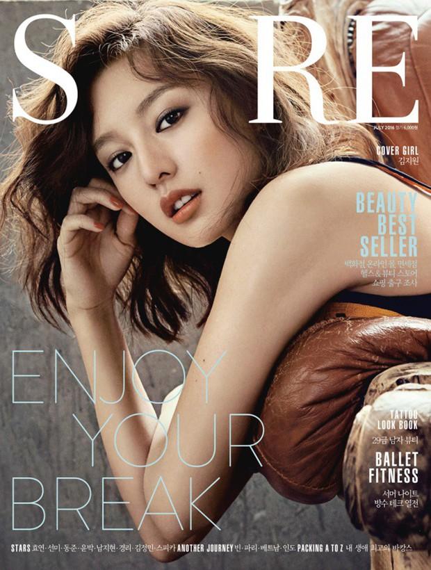 Park Shin Hye đẹp ma mị với suối tóc dài không tưởng, Shin Min Ah sành điệu trên tạp chí - Ảnh 14.