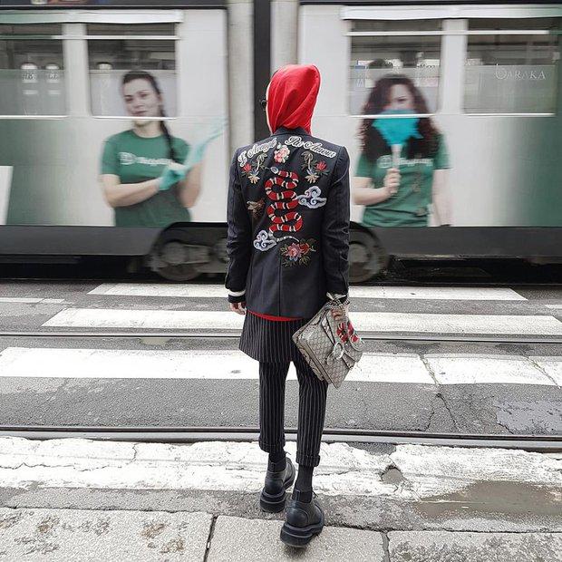 Kelbin Lei phủ đầy hàng hiệu, thẳng tiến dự show tại Milan Fashion Week - Ảnh 2.