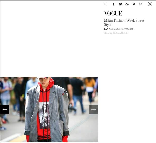 Kelbin Lei lại một lần nữa chễm chệ trên Vogue Ý và hàng loạt blog thời trang - Ảnh 1.