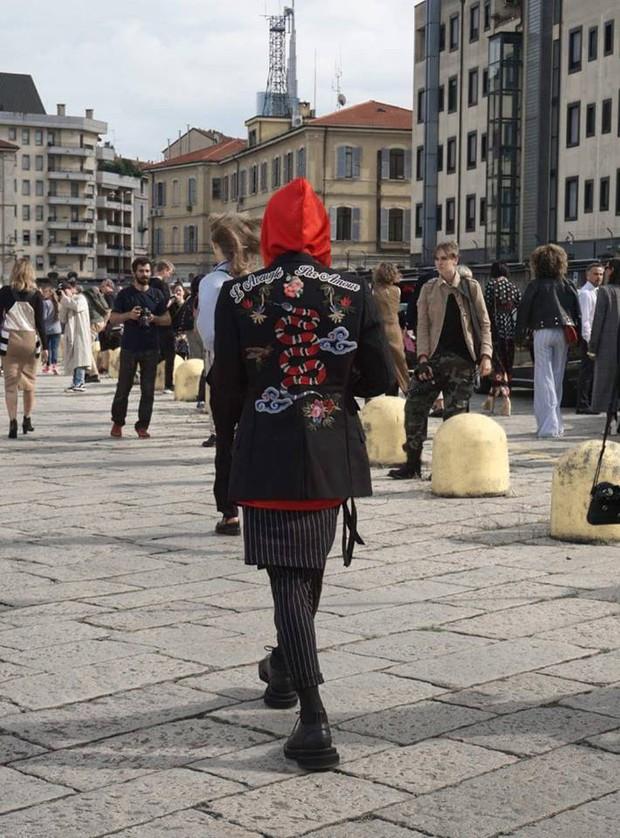 Kelbin Lei phủ đầy hàng hiệu, thẳng tiến dự show tại Milan Fashion Week - Ảnh 9.