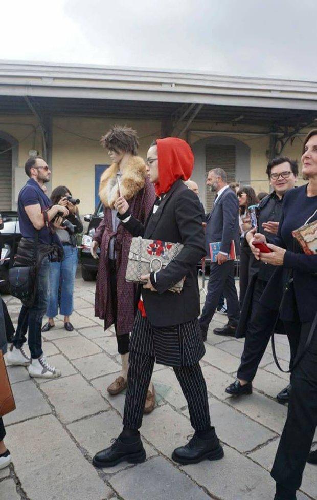 Kelbin Lei phủ đầy hàng hiệu, thẳng tiến dự show tại Milan Fashion Week - Ảnh 10.