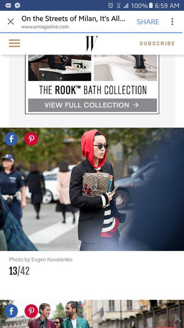 Kelbin Lei lại một lần nữa chễm chệ trên Vogue Ý và hàng loạt blog thời trang - Ảnh 2.