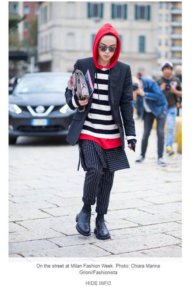 Kelbin Lei lại một lần nữa chễm chệ trên Vogue Ý và hàng loạt blog thời trang - Ảnh 4.