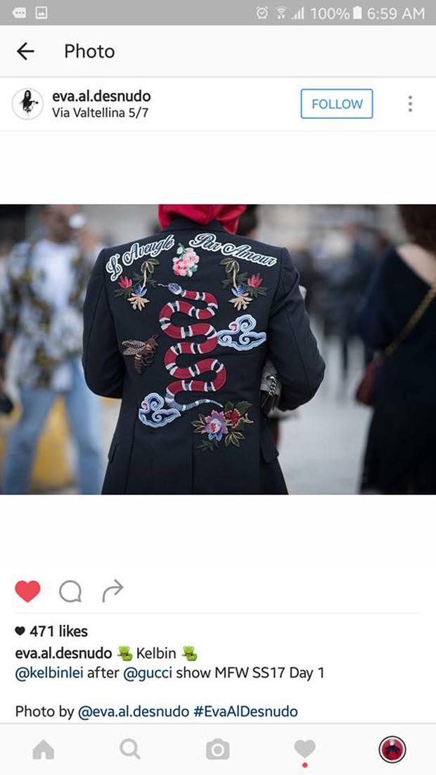 Kelbin Lei lại một lần nữa chễm chệ trên Vogue Ý và hàng loạt blog thời trang - Ảnh 5.