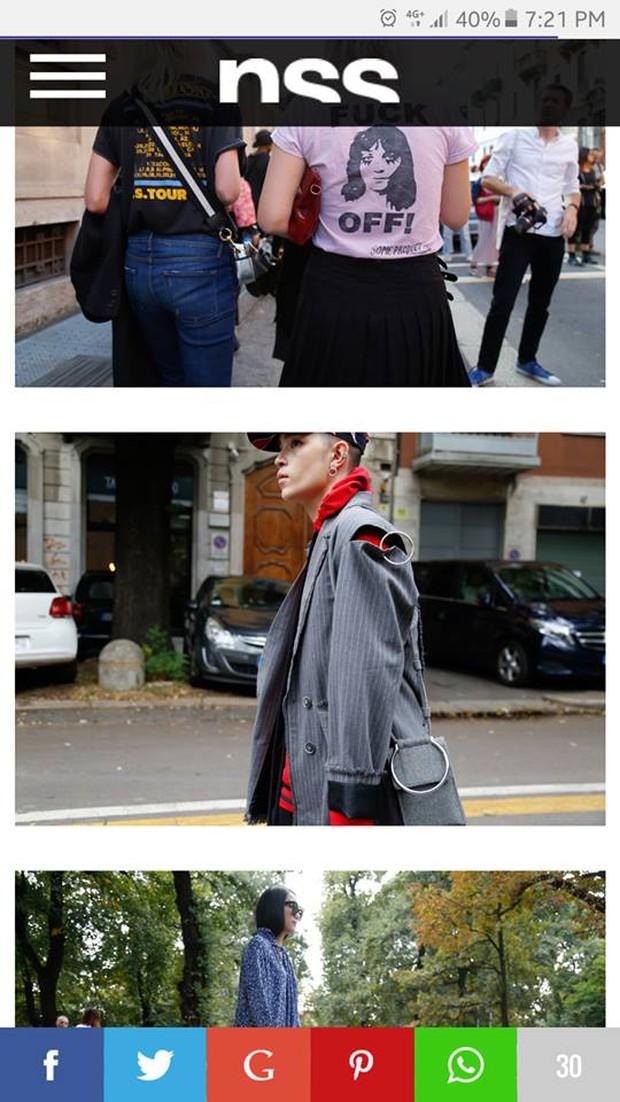 Kelbin Lei lại một lần nữa chễm chệ trên Vogue Ý và hàng loạt blog thời trang - Ảnh 6.