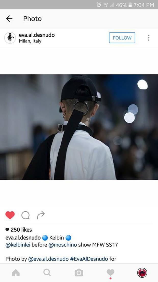 Kelbin Lei lại một lần nữa chễm chệ trên Vogue Ý và hàng loạt blog thời trang - Ảnh 7.