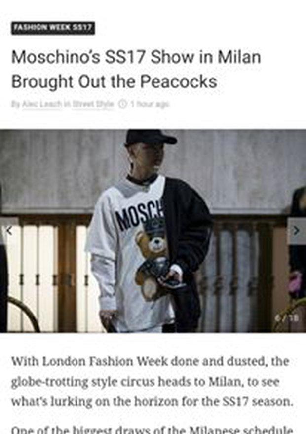 Kelbin Lei lại một lần nữa chễm chệ trên Vogue Ý và hàng loạt blog thời trang - Ảnh 3.