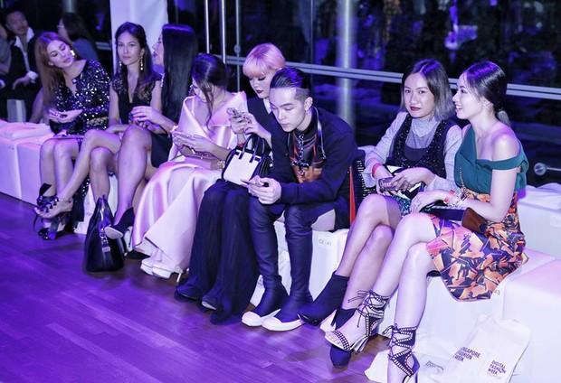 Kelbin Lei dự show diễn của NTK trứ danh đã tạo nên váy ốp-la cho Rihanna - Ảnh 5.