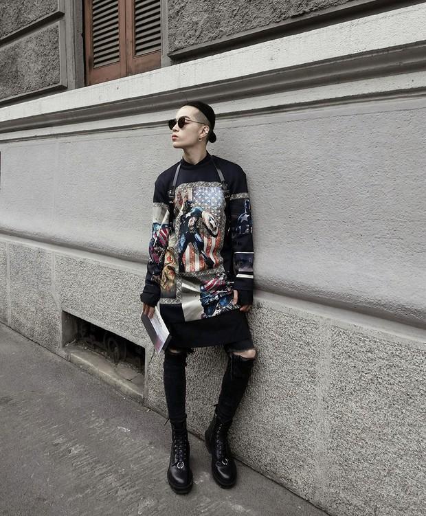 Kelbin Lei lại một lần nữa chễm chệ trên Vogue Ý và hàng loạt blog thời trang - Ảnh 9.