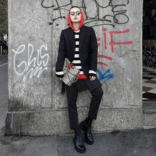 Kelbin Lei phủ đầy hàng hiệu, thẳng tiến dự show tại Milan Fashion Week - Ảnh 1.