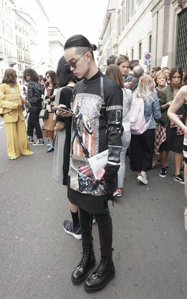 Kelbin Lei lại một lần nữa chễm chệ trên Vogue Ý và hàng loạt blog thời trang - Ảnh 11.