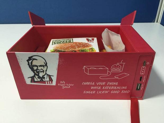 Không lo hết pin điện thoại với suất ăn đặc biệt từ KFC - Ảnh 3.