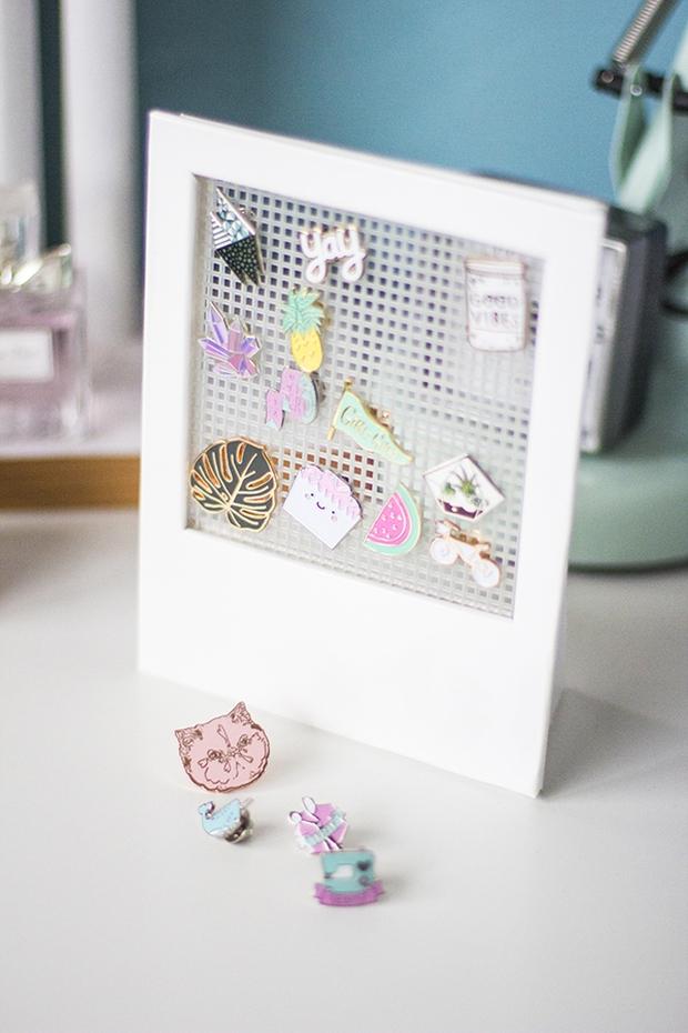 Khung treo hoa tai kiểu polaroid - Giải pháp cho cô nàng lơ đễnh - Ảnh 11.