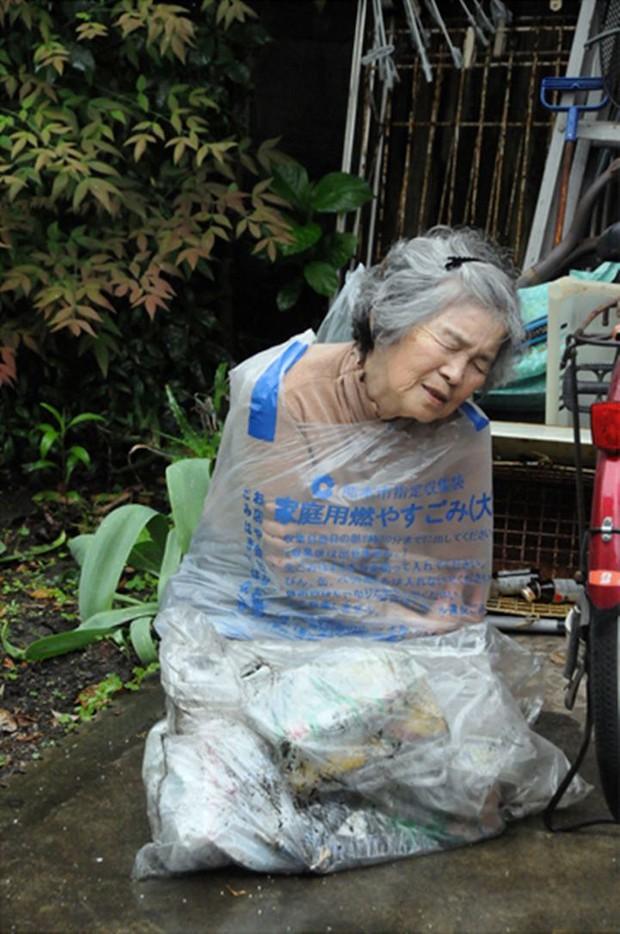 Những bức chân dung tự sướng siêu chất của cụ bà Nhật Bản 87 xuân xanh - Ảnh 4.
