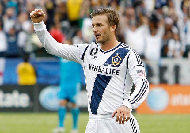 Beckham chúc mừng Ashley Cole gia nhập đội bóng cũ LA Galaxy - Ảnh 1.