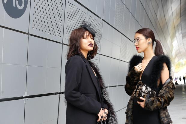 HOT: Mai Ngô & Lan Khuê nổi bần bật trên ghế khách mời tại Seoul Fashion Week - Ảnh 11.