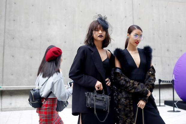 HOT: Mai Ngô & Lan Khuê nổi bần bật trên ghế khách mời tại Seoul Fashion Week - Ảnh 12.