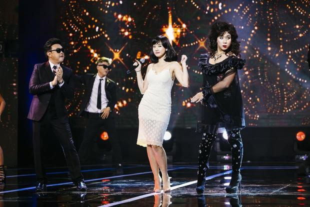 Hari Won đóng giả Bích Phương, Trấn Thành giả gái bên người yêu - Ảnh 2.