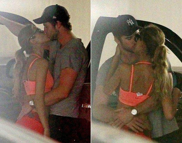 Calvin Harris lộ ảnh tay trong tay hẹn hò bạn gái cũ của Liam Hemsworth - Ảnh 2.