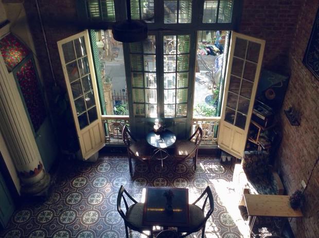 Hà Nội: Muốn chụp ảnh nền gạch hoa vintage? Cứ đến những quán cafe này - Ảnh 5.