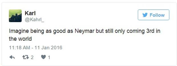 Cư dân mạng dậy sóng vì Ronaldo xếp trên Neymar - Ảnh 4.