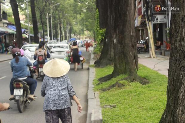 Gặp cô gái váy đen, khăn đỏ đẩy xe cho bà cụ bán rong ở Sài Gòn - Ảnh 7.