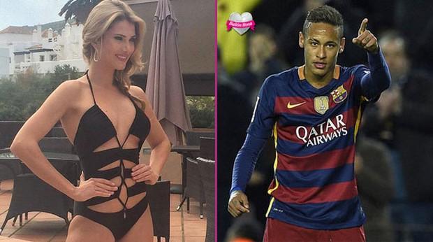 Hoa hậu thế giới 2015 phủ nhận chuyện hẹn hò với Neymar - Ảnh 1.