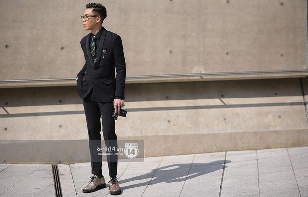 Độc quyền: Street style chất lừ tại Tuần lễ thời trang Seoul - Ngày 2 - Ảnh 4.
