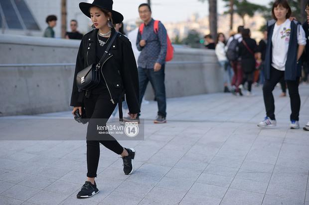 Độc quyền: Street style chất lừ tại Tuần lễ thời trang Seoul - Ngày 2 - Ảnh 14.