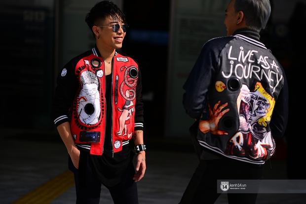 Châu Bùi & Cao Minh Thắng ton-sur-ton, Min diện quần một mất một còn tại Seoul Fashion Week ngày 3 - Ảnh 6.