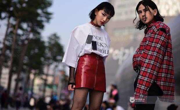 Châu Bùi & Cao Minh Thắng ton-sur-ton, Min diện quần một mất một còn tại Seoul Fashion Week ngày 3 - Ảnh 2.