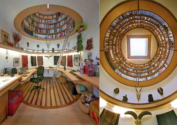 15 thiết kế nội thất trong mơ khiến bạn chỉ muốn nằm ì ở nhà cả ngày - Ảnh 12.