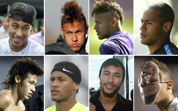 Neymar, ngôi sao sân cỏ có màn lột xác ngoạn mục nhất - Ảnh 10.
