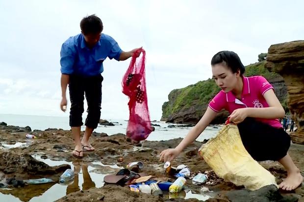 Hoa hậu Việt Nam 2016: Nàng thơ xứ Huế Ngọc Trân tiếp tục được khen hết lời với dự án môi trường - Ảnh 5.