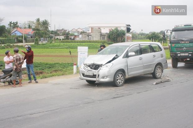 Quảng Nam: Tai nạn liên hoàn, một người bị thương nặng - Ảnh 1.