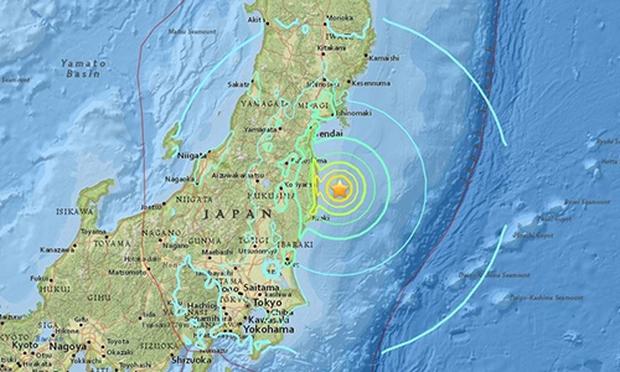 Nhật Bản rung chuyển vì động đất mạnh 7,3 độ Richter gây sóng thần - Ảnh 2.