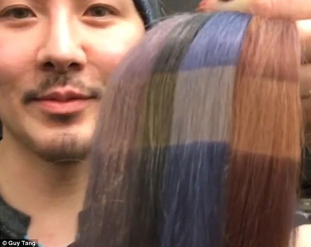 Chỉ với 5 giây, bạn sẽ hiểu vì sao tóc nhuộm phai màu nhanh đến thế - Ảnh 3.