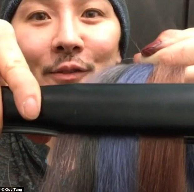 Chỉ với 5 giây, bạn sẽ hiểu vì sao tóc nhuộm phai màu nhanh đến thế - Ảnh 2.