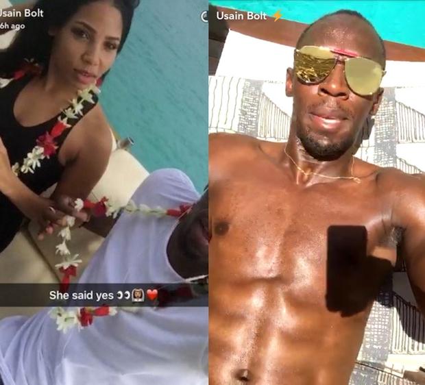 Usain Bolt khoe ảnh nóng của bạn gái sau scandal ăn nằm với cô sinh viên Brazil - Ảnh 3.