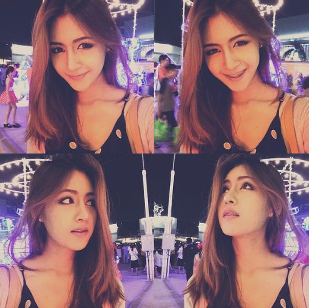 Đây là hot girl Thái Lan được nhận xét có gương mặt giống Quỳnh Anh Shyn đến 80%! - Ảnh 7.