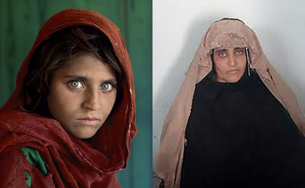 Cô gái Afghanistan trong bức ảnh nổi tiếng thế giới bị bắt vì dùng thẻ căn cước giả - Ảnh 1.