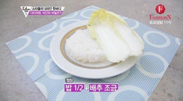 Những sao nữ Hàn giảm cân thần tốc thành công và đây là chế độ ăn ít ỏi đến đáng thương của họ - Ảnh 10.