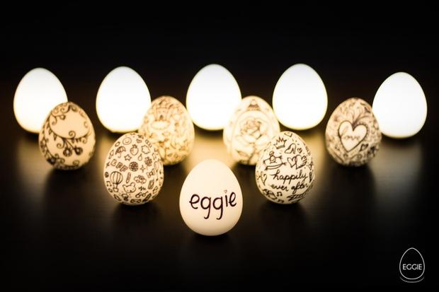 Tô điểm nhà xinh với những trái đèn trứng phát sáng lung linh - Ảnh 2.