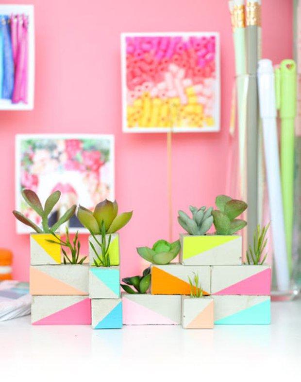Thiết kế khu vườn siêu mini từ những ô gạch nhỏ - Ảnh 5.