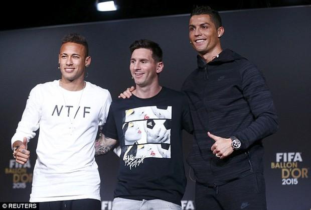 Messi và Neymar đắt giá nhất thế giới, Ronaldo chỉ xếp hạng 3 - Ảnh 2.